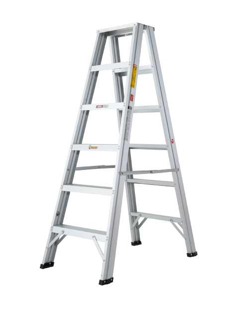 Aluminium Double Sided A Shape Ladder 6 Steps (DSL06)