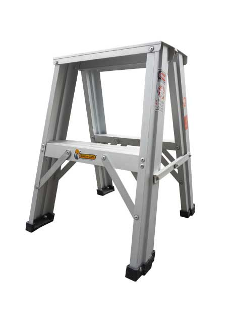 Aluminium Double Sided A Shape Step Stool Ladder 2 Steps (DSL02)
