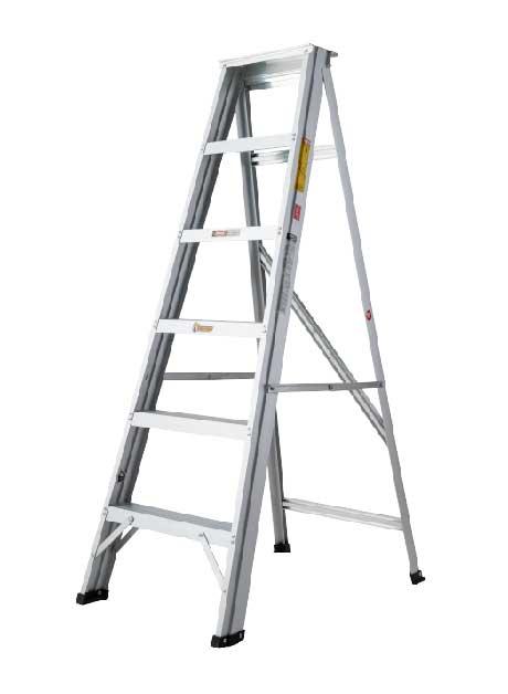 Aluminium Single Sided A Shape Ladder 6 Steps (SL06)