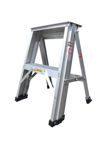 Aluminium Single Sided A Shape Step Stool Ladder 2 Steps (SL02)