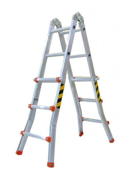 Aluminium Compact Multi-Ladder 12 Steps (WCL-12)