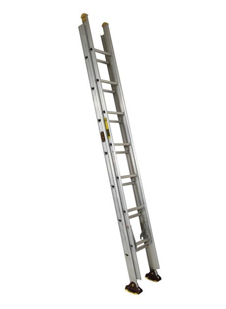 Aluminium Double Extension Ladder (Construction) 14 Rungs (NBED 8)