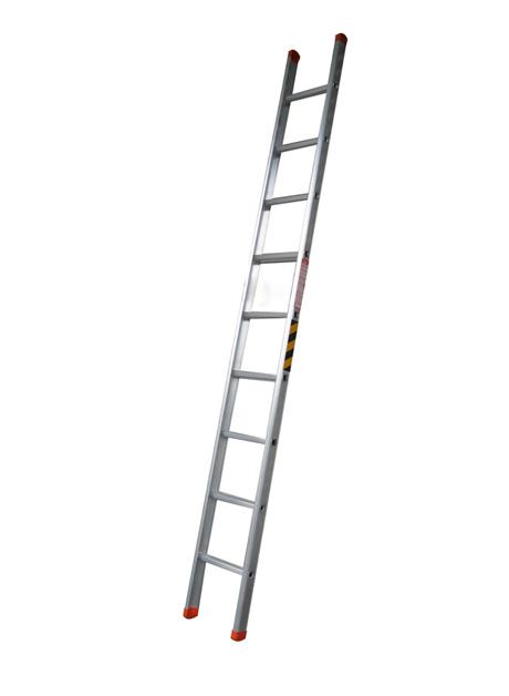 Aluminium Single Pole Ladder – 9 Rungs (WSP-10)