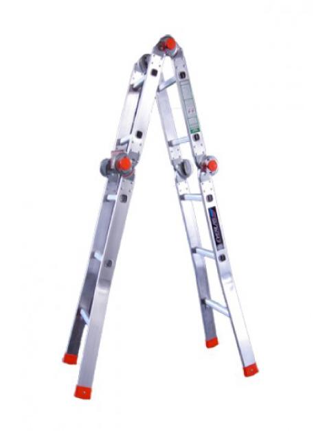 Aluminium Multi-Purpose Ladder 10 Steps (YMPRH10)