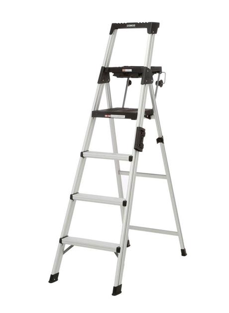 Aluminium Signature Series Ladder 4 Steps (20-602 GAB)