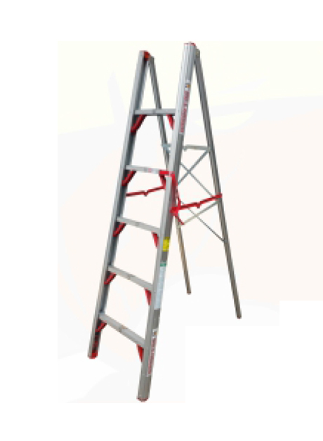 Aluminium Single Sided Folding Step Ladder 5 Steps (FDL-SAS05)