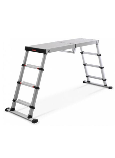 Aluminium Telescopic Work Platform Ladder 4 Steps (TWP-61209)
