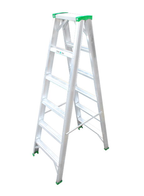 Aluminium Double Sided Ladder – 6 Steps (SDS 06)
