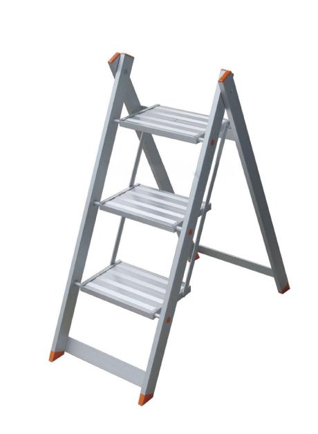 Aluminium Envy Step Stool (NA) – 3 Steps (WEV03NA)
