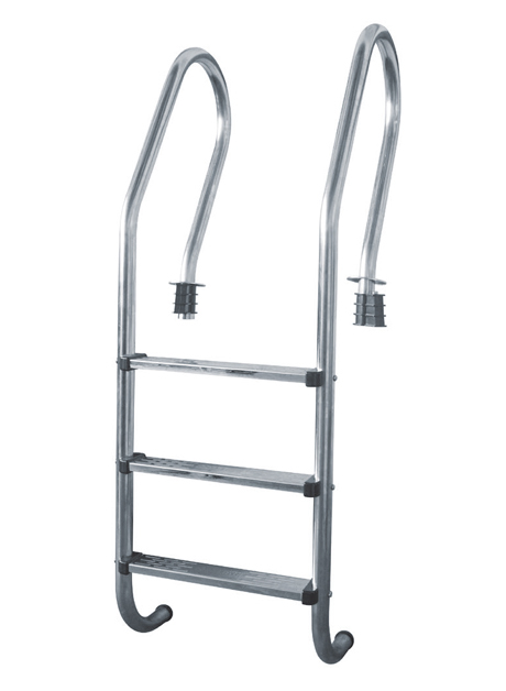 Stainless Steel (Grade 304) Swimming Pool Ladder 3 Steps (SP3-SS304)