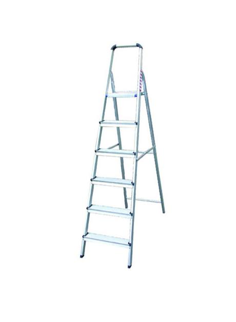 Aluminium Platform Ladder – 6 Steps (EZ06)