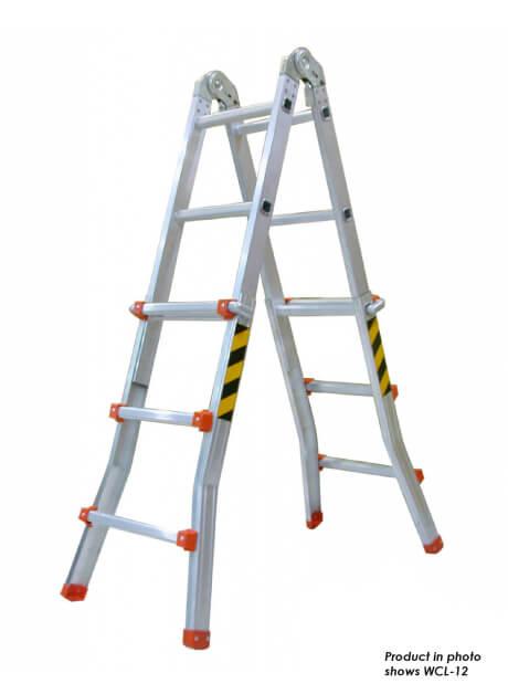 Aluminium Compact Multi-Ladder 16 Steps (WCL-16)