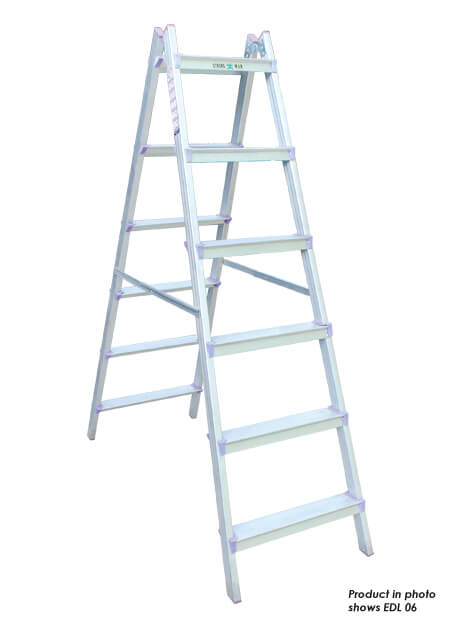 Aluminium E Double Sided Ladder – 5 Steps (EDL05)