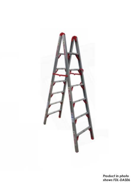 Aluminium Double Sided Folding Step Ladder 5 Steps (FDL-DAS05)