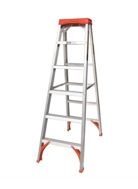 Aluminium Double Sided Tanglepruf® Ladder – 6 Steps (WDS-06)
