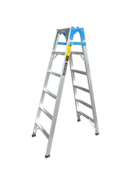 Aluminium Dual-Purpose Ladder – 6 Steps (E-DP06)