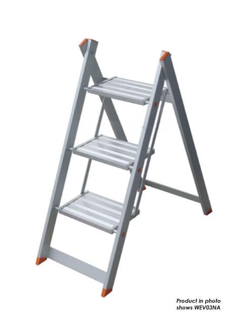 Aluminium Envy Step Stool (NA) – 2 Steps (WEV02NA)