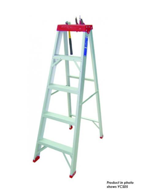 Aluminium Heavy Duty Certified Step Ladder – 9 Steps (YCS09)