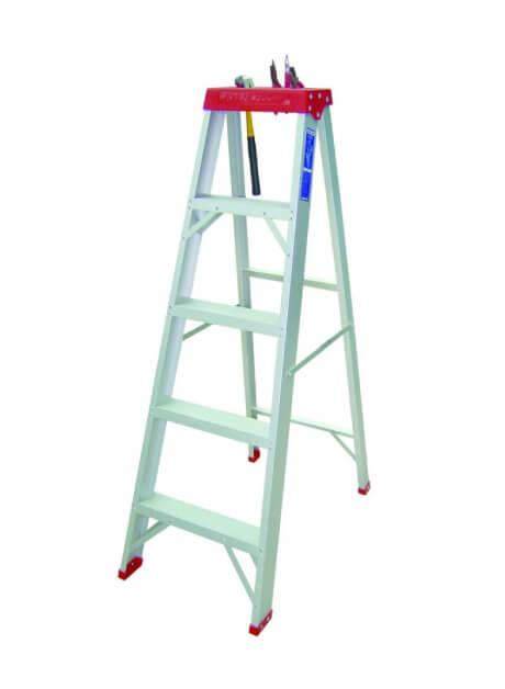 Aluminium Heavy Duty Certified Step Ladder – 5 Steps (YCS05)