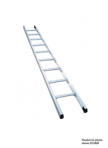 Aluminium Single Pole Ladder – 11 Rungs (ES12DR)