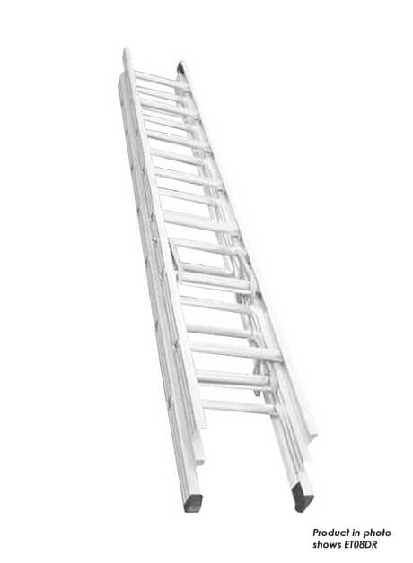Aluminium Triple Extension Ladder – 33 Rungs (ET12DR)