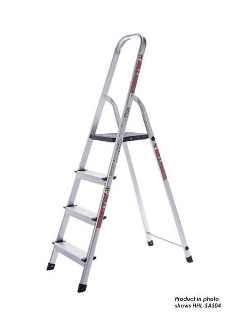Aluminium Household Step Ladder 8 Steps (HHL-SAS08)