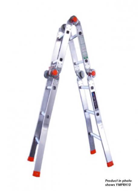 Aluminium Multi-Purpose Ladder 12 Steps (YMPRH12)
