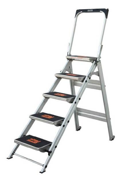 Aluminium Safety Step Ladder 5 Steps (10510B)