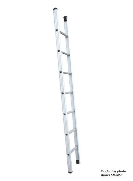 Aluminium Single Pole Ladder – 11 Rungs (SM12SP)