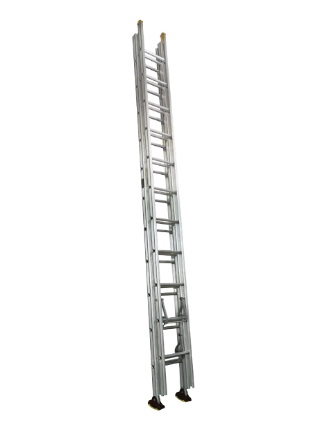 Aluminium Triple Extension Ladder (Construction) 33 Rungs (NBET 12)