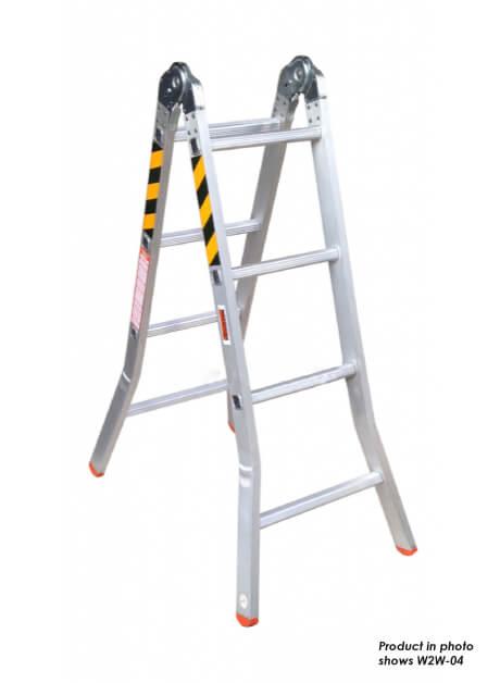 Aluminium Two Way Ladder – 6 Steps (W2W-06)