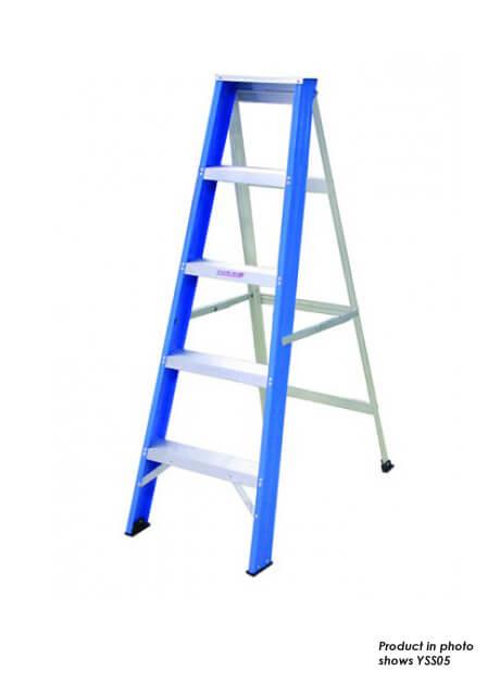 Aluminium Single Sided Ladder – 7 Steps (YSS07)