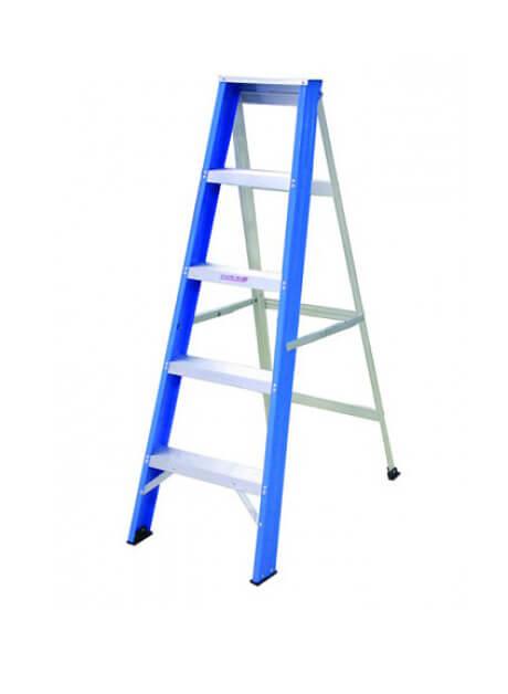 Aluminium Single Sided Ladder – 5 Steps (YSS05)