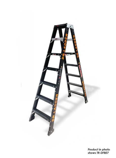 Fiberglass Trestle Ladder 9 Steps (TR-DFB09)
