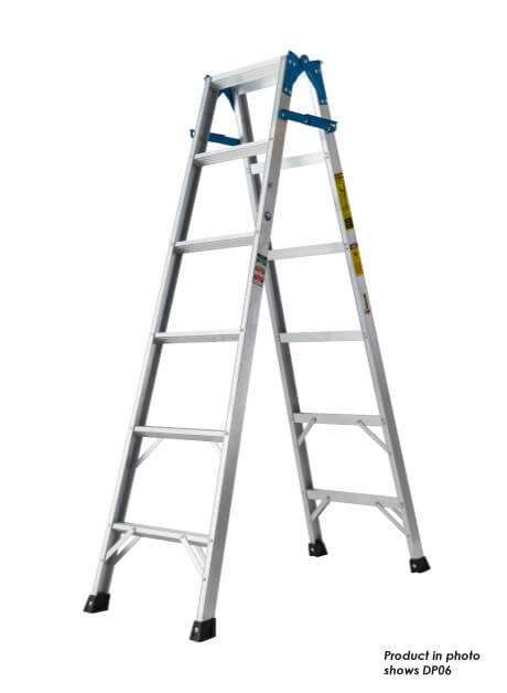 Aluminium Dual Purpose Ladder – 8 Steps (DP08)