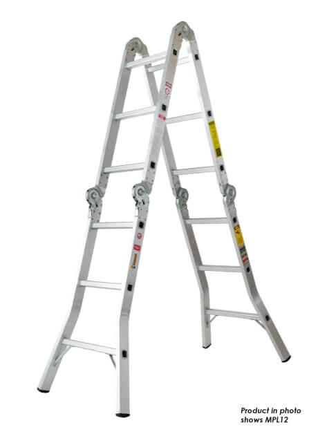 Aluminium Multipurpose Ladder 16 Steps (MPL16)