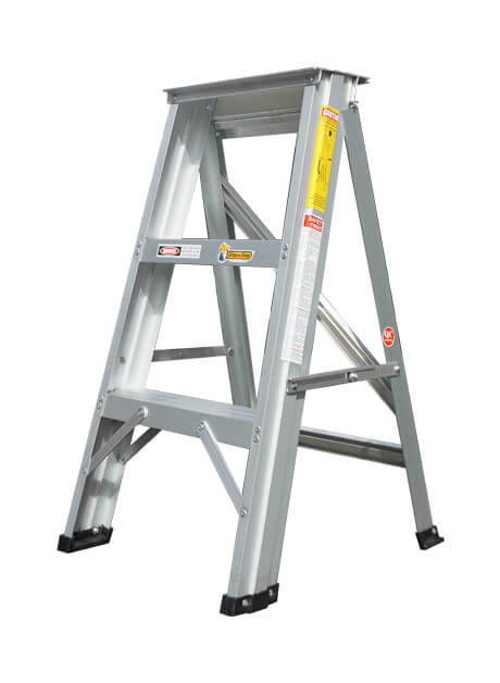 Aluminium Single Sided A Shape Step Stool Ladder 3 Steps (SL03)