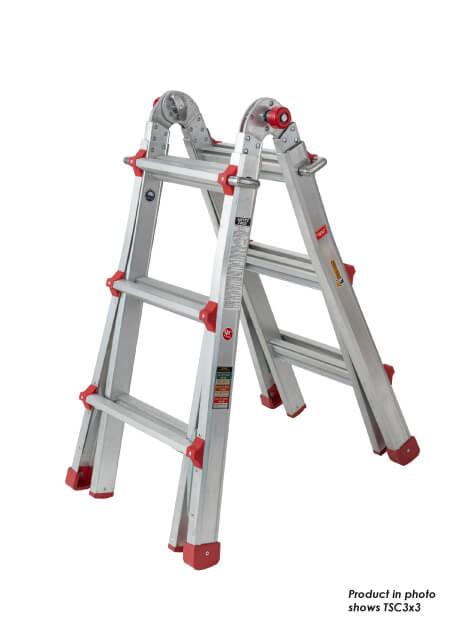 Aluminium Telescopic Ladder 16 Steps (TSC4x4)